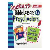 RoseKidz, Instant Bible Lessons For Preschoolers Activity Book God's Servants Teach Me, Ages 2-5