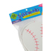 Silly Winks, Baseball Foam Shapes, 4.50 Inches, 10 Each, Ages 4 and up