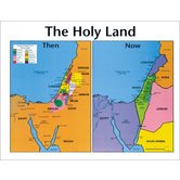 Holy Land: Then and Now, by Rose Publishing, Wall Chart