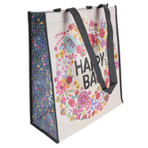 Natural Life, Floral Wreath Happy Bag, X-Large, 12 1/2 x 5 x 14 inches