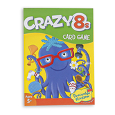 Peaceable Kingdom, Crazy 8s Card Game, 2 to 4 Players, Ages 5 & Older