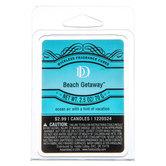 D & D, Beach Getaway Scented Wax Melts, 6 Cubes, 2 1/2 ounces