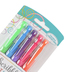 Scribble Stuff, Neon Gel Pens, Assorted Colors, Pack of 5