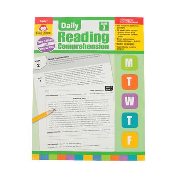 Evan-Moor, Daily Reading Comprehension Grade 7, Paperback, 208 Pages, Grade 7