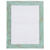 Renewing Minds, Rectangle Notepad, 6 x 8 Inches, Turquoise and Grey Weathered Wood, 50 Sheets