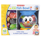 The Learning Journey, Learn With Me Color Fun Fish Bowl, 6 inches, Ages 2 & Older