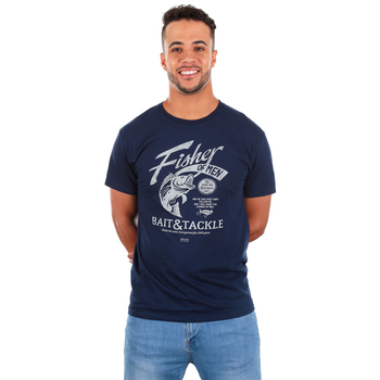 Kerusso, Matthew 4:19 Fisher Of Men, Men's Short Sleeve T-shirt, Navy, S-3XL
