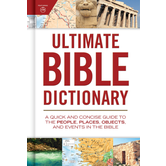 Ultimate Bible Dictionary, by Holman Bible Editorial Staff, Hardcover