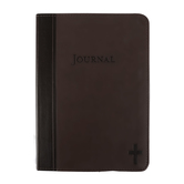 SoulScripts, Simply the Cross, Compact Flexcover Journal, Cocoa Brown, 5 1/4 x 7 1/4 inches, 240 pages