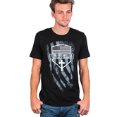 NOTW, Stand for the Flag Kneel for the Cross, Men's Short Sleeve T-Shirt, Black, S-2XL