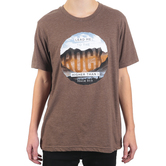 NOTW, Psalm 61:2 Lead Me To The Rock Higher Than I, Men's Short Sleeve T-Shirt, Brown Heather, S-2XL