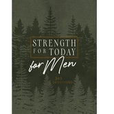 Strength for Today for Men: 365 Daily Devotional, by BroadStreet, Imitation Leather