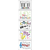 Eureka, Bravo! Success Stickers, 1.38 x 1 Inches, Multi-Colored, Pack of 120