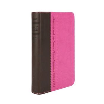 NLT Compact Bible, Duo-Tone, Multiple Colors Available