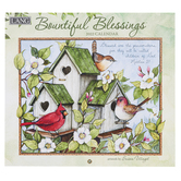 The Lang Companies, Susan Winget Bountiful Blessings 2022 Wall Calendar, 13 1/2 x 24 inches