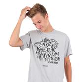 Kerusso, Isaiah 41:10 Do Not Fear, Men's Short Sleeve T-shirt, Silver, S-3XL
