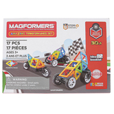 Magformers, Amazing Transform Wheel Set, 17 Pieces, Ages 3 and Older