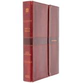 NVI Super Giant Print Spanish Bible, Imitation Leather, Brown