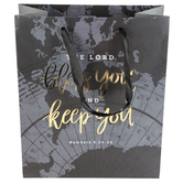 ThreeRoses, Numbers 6:24-25 Bless You & Keep You Gift Bag, Multiple Sizes Available