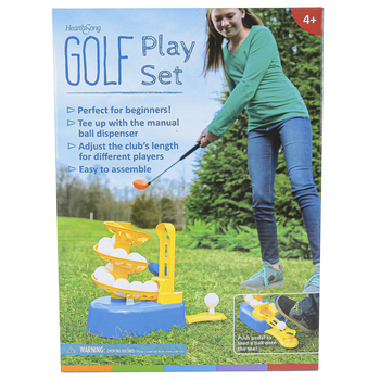 HearthSong, Golf Play Set, 18 Pieces, Ages 4 and Older