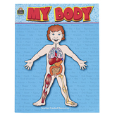 Teacher Created Resources, My Body Science Activity Book, Reproducible Paperback, 40 Pages, Grades 1-4