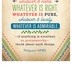 Salt & Light, Whatever Is True Church Bulletins, 8 1/2 x 11 inches Flat, 100 Count