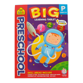 School Zone, Preschool Big Learning Tablet, Paperback, 240 Pages, Ages 3-5