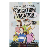 The Tuttle Twins and the Education Vacation, Book 10, Paperback, 59 Pages, Grades K-6