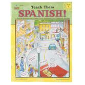 Carson-Dellosa, Teach Them Spanish Workbook, Reproducible Paperback, 96 Pages, Grade 5