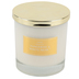 Winfield Home Decor, Tangerine and White Musk Frosted Candle, White, 3 3/4 x 3 3/4 x 4 inches