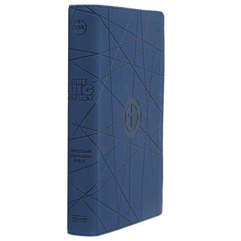 CSB One Big Story Bible, Imitation Leather, Blue