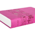 NIrV Large Print Bible, Duo-Tone, Raspberry