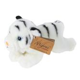 Aurora, Miyoni, White Tiger Stuffed Animal, 8 inches