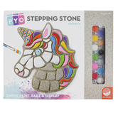 Mindware, Paint Your Own Steeping Stone, Unicorn, 9 x 9 1/2 Inches