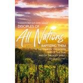 Salt & Light, Matthew 28:19 All Nations Church Bulletins, 8 1/2 x 11 inches Flat, 100 Count