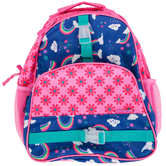 Stephen Joseph, Rainbow All Over Print Backpack, 12 x 6 1/2 x 16 inches