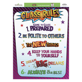 Superheroes Collection, Class Rules Chart, 17 x 22 Inches, Multi-Colored