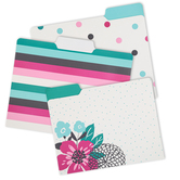 Carolina Pad, The Panache Collection, File Folders, 11 1/4 x 9 1/2 inches, 6 Folders
