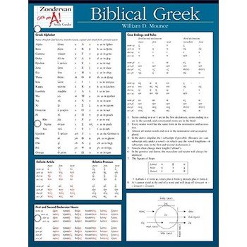 Biblical Greek, by William D. Mounce and Gary D. Pratoco