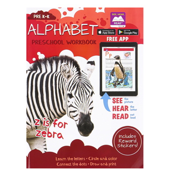 Bendon Publishing, Alphabet Preschool Book, Paperback, Grades Pre K-K