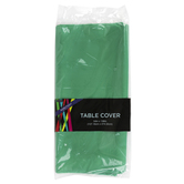 Brother Sister Design Studio, Plastic Table Cover, Emerald Green, Rectangle, 54 x 108 Inches, 1 Each
