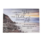 Renewing Faith, John 14:6 I Am The Way Pass Along Cards, 2 x 3 inches, Set of 10