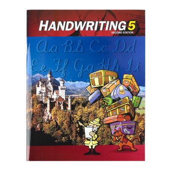 BJU Press, Handwriting 5 Student Worktext (2nd Edition)