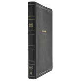 KJV Thinline Bible, Giant Print, Imitation Leather, Multiple Colors Available, Thumb Indexed