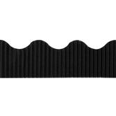 The Fine Touch, Corrugated Border Trim, 50 Feet, Black