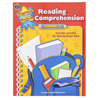 Teacher Created Resources, Reading Comprehension Practice Makes Perfect Workbook, 48 Pages, Grade 2