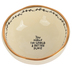 Natural Life, You Make The World A Better Place Trinket Bowl, Ceramic, White, 3 1/4 Inches