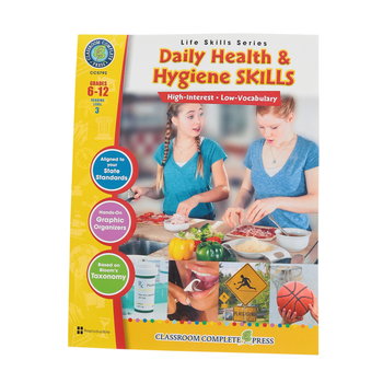 Life Skills Series, Daily Health and Hygiene Skills, Grades 6-12, Paperback, 60 Pages