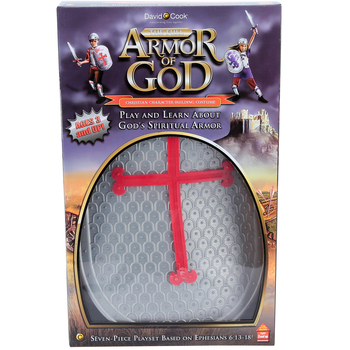 David C. Cook, Full Armor of God Play Set, 6 Pieces, Ages 3 Years and Older
