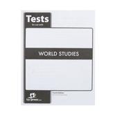 BJU Press, World Studies Student Tests, 4th Edition, Grade 7